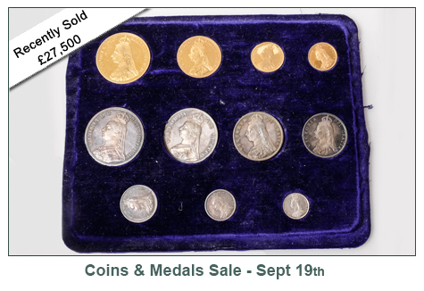 Kate Howe Limited : Victoria proof coin set 1887